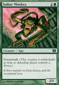 Zodiac Monkey