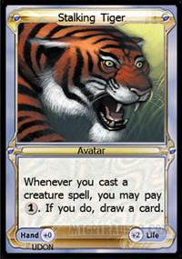 Avatar - Stalking Tiger