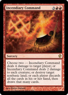 incendiary command