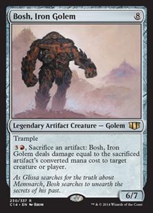 Bosh, Iron Golem