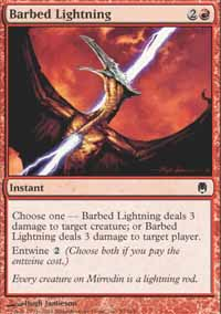 Barbed Lightning