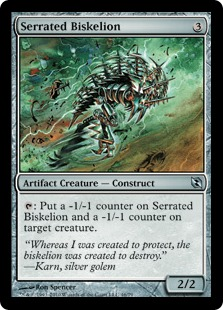 Serrated Biskelion