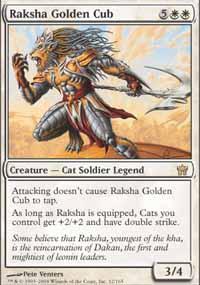 Raksha Golden Cub