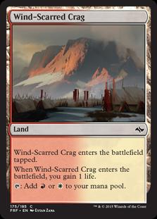 Wind-Scarred Crag