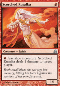 Scorched Rusalka