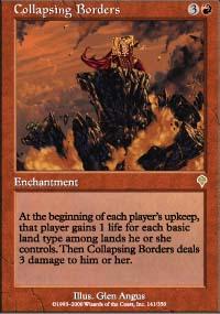 Collapsing Borders