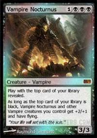 vampire nocturnus foil