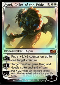 Ajani, Caller of the Pride *Foil*