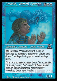 Reveka, Wizard Savant