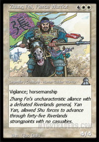 Zhang Fei, Fierce Warrior
