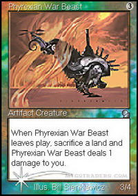 Phyrexian War Beast *Foil*