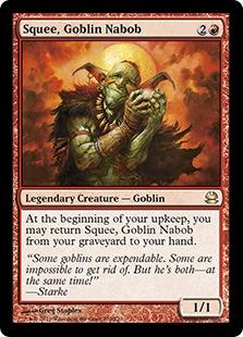 Squee, Goblin Nabob