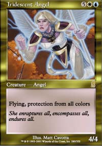 Iridescent Angel
