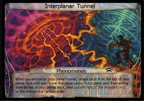 Interplanar Tunnel
