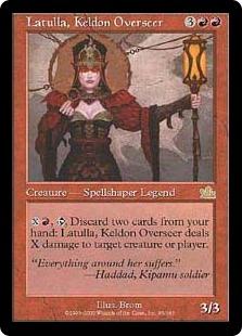 Latulla, Keldon Overseer