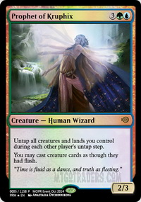 Prophet Of Kruphix Foil
