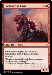 Flametongue Kavu