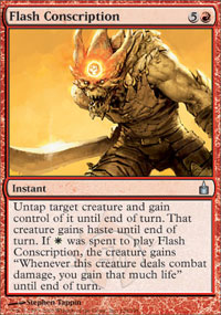 Flash Conscription