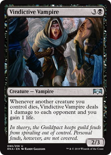Orzhov Enforcer An overperformer at the moment given the number of people still playing jund sacrifice or experimenting with the new titans. orzhov enforcer