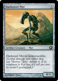Foil MTG X1 Darksteel Axe