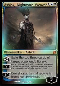 Ashiok, Nightmare Weaver foil | eBay