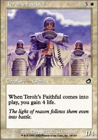 Teroh's Faithful
