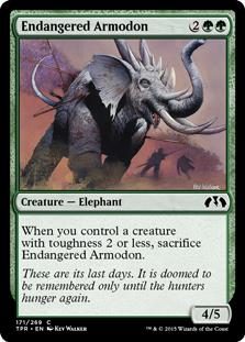 Endangered Armodon